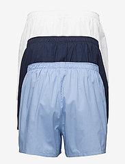 Polo Ralph Lauren Underwear - Woven Cotton Boxer 3-Pack - boxershorts - wh/blue/nvy - 1