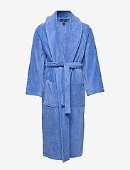 Polo Ralph Lauren Underwear - Cotton Terry Shawl Robe - badjassen - bermuda blue - 0
