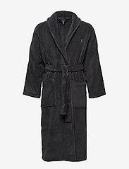 Polo Ralph Lauren Underwear - Cotton Terry Shawl Robe - badjassen - dark slate - 0