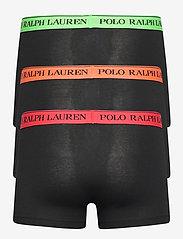 Polo Ralph Lauren Underwear - Stretch-Cotton Trunk 3-Pack - boxers - 3pk blk grn/blk o - 1
