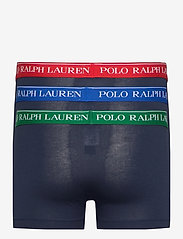 Polo Ralph Lauren Underwear - Stretch-Cotton Trunk 3-Pack - boxers - 3pk nvy grn/nvy r - 1