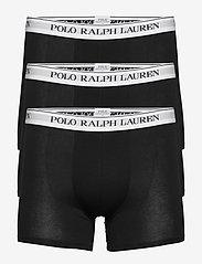 Polo Ralph Lauren Underwear - Cotton Boxer Brief 3-Pack - boxers - 3pk black/black/b - 0