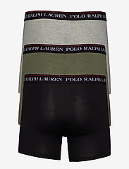 Polo Ralph Lauren Underwear - Cotton Boxer Brief 3-Pack - boxershorts - 3pk blk/and hthr/ - 1