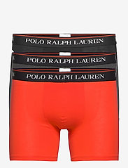 Polo Ralph Lauren Underwear - Cotton Boxer Brief 3-Pack - boxers - 3pk blk/win hthr/ - 0
