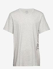 Polo Ralph Lauren Underwear - LIQUID COTTON-CRW-STP - kurzärmelig - english heather - 0