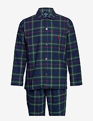 Polo Ralph Lauren Underwear - L/S PJ SET-SLEEP SET - pyjamat - kesington plaid - 0