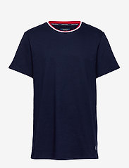 Polo Ralph Lauren Underwear - LOOP BACK JERSEY-CRW-STP - basic t-shirts - cruise navy - 0
