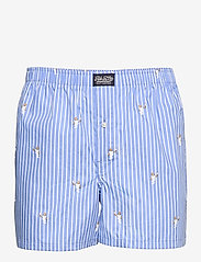 Polo Ralph Lauren Underwear - Polo Bear Striped Cotton Boxer - boxers - tennis bear strip - 0