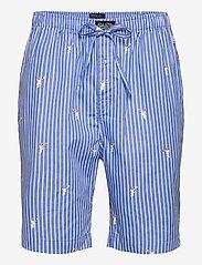 Polo Ralph Lauren Underwear - Polo Bear Striped Cotton Pajama Set - pyjamas - tennis bear strip - 2