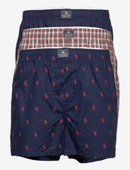 Cotton Boxer 3-Pack - 3PK NVY AOPP/RED