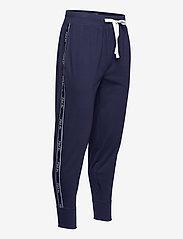 Polo Ralph Lauren Underwear - Logo-Tape Cotton Jersey Jogger - bottoms - cruise navy - 3