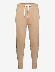 Polo Ralph Lauren Underwear - Logo-Tape Cotton Jersey Jogger - bottoms - vintage khaki - 0