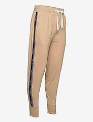 Polo Ralph Lauren Underwear - Logo-Tape Cotton Jersey Jogger - bottoms - vintage khaki - 2