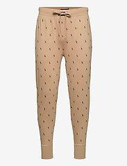 Polo Ralph Lauren Underwear - Signature Pony Jogger - bottoms - vintage khaki aop - 0