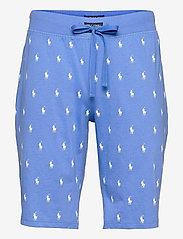 Polo Ralph Lauren Underwear - Signature Pony Sleep Short - bottoms - bermuda blue aopp - 0