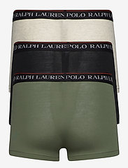 Polo Ralph Lauren Underwear - Classic Stretch-Cotton Trunk 3-Pack - boxers - 3pk blk/crgo gree - 1