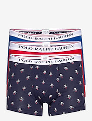 Polo Ralph Lauren Underwear - Classic Stretch-Cotton Trunk 3-Pack - boxers - 3pk shp str/red/n - 0