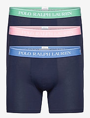 Polo Ralph Lauren Underwear - Stretch Cotton Boxer Brief 3-Pack - boxers - 3pk nvy blu/nvy p - 0