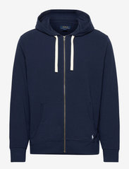Stretch French Terry Hoodie - CRUSE NAVY