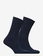 Polo Ralph Lauren Underwear - SCK SIZED 2 PK MERC CTN FLAT K - regular socks - admiral blue - 1