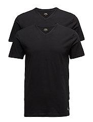 2 PACKS V-NECK - BLACK