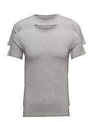 Crewneck T-Shirt 2-Pack - 2PK ANDOVER HTR
