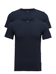 Crewneck T-Shirt 2-Pack - 2PK NAVY/NAVY
