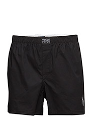 Slim Fit Stretch Cotton Boxer - POLO BLACK