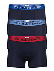Classic Stretch Trunk 3-Pack - NVY/SAPP/ NVY/BLU/ NVY/RED