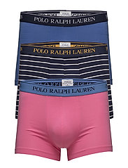 Stretch Cotton Trunk 3-Pack - 3PK CHRM PINK/IND