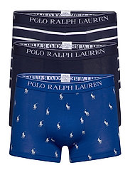 Stretch-Cotton Trunk 3-Pack - 3PK SPHR AOPP/NVY