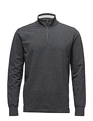 LT WT FLEECE-STP - CHARCOAL HEATHER