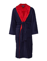 LTWT TERRY JACQUARD-RBE - CRUISE NAVY