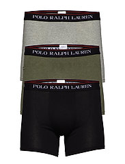 Cotton Boxer Brief 3-Pack - 3PK BLK/AND HTHR/