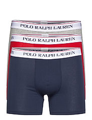 Cotton Boxer Brief 3-Pack - 3PK NAVY/RED/AND