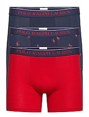 Cotton Boxer Brief 3-Pack - 3PK NVY AOPP/RED/