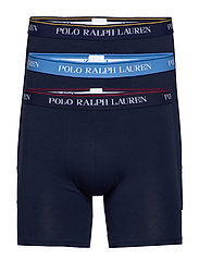 Cotton Boxer Brief 3-Pack - 3PK NVY/YLW NVY/R