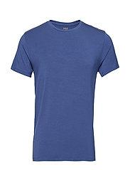 LT WT MODAL-CRW-STP - CHARTER BLUE