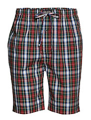 Cotton Sleep Short - WILLIAM PLAID