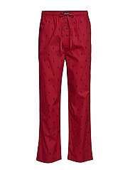 Cotton Sleep Pant - EATON RED AOPP CR
