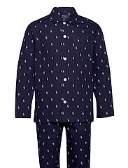 Cotton Sleep Set - CRUISE NAVY / BLU