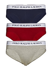 Stretch-Cotton Brief 3-Pack - 3PK AND HTHR / EA