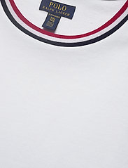 Polo Ralph Lauren Underwear - LOOP BACK JERSEY-CRW-STP - basic t-shirts - white - 2