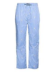 Plaid Pajama Pant - TENNIS BEAR STRIP