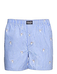 Polo Bear Striped Cotton Boxer - TENNIS BEAR STRIP