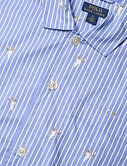Polo Ralph Lauren Underwear - Polo Bear Striped Cotton Pajama Set - pyjamas - tennis bear strip - 5