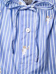 Polo Ralph Lauren Underwear - Polo Bear Striped Cotton Pajama Set - pyjamas - tennis bear strip - 7