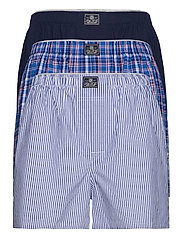 Cotton Boxer 3-Pack - MAD STRP/RAY PLD/
