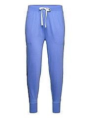 Logo-Tape Cotton Jersey Jogger - BERMUDA BLUE
