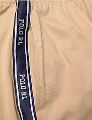 Polo Ralph Lauren Underwear - Logo-Tape Cotton Jersey Jogger - bottoms - vintage khaki - 4